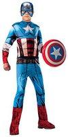 Rubies Marvels Captain America Kinderkostüm Deluxe