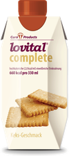 CuraProducts lovital complete Trinknahrung Keks Geschmack (12 x 330 ml)
