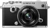 Olympus PEN-F Kit 17 mm silber