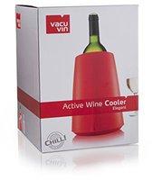 Vacu Vin Rapid Ice Weinkühler Elegant rot