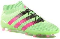 Adidas Ace 16.1 Primeknit FG Men solar green/shock pink/core black