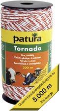 Patura Tornado Litze 1000 m weiß-orange (180701)