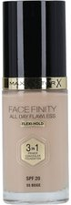 Max Factor Flawless Face Finity All Day 3 in 1 - 55 Beige (30 ml)