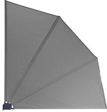 Grasekamp Sichtschutzfächer Premium 140 x 140 cm anthrazit