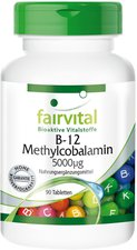 Fairvital B 12 Methylcobalamin 5000 µg Tabletten (90 Stk.)