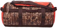 The North Face Base Camp Duffel M brunette brown catalog print