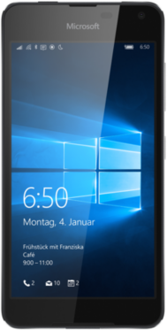 Microsoft Lumia 650 schwarz ohne Vertrag
