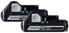 Hitachi Europe 2 x BSL1825 Schiebeakku 18V 2,5 Ah