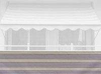 Angerer Balkonbespannung 90cm x 6m Streifen beige