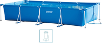 Intex Pools Metal Frame Junior 450 x 220 x 84 cm (28274FR)