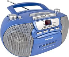 Karcher Unterhaltungselektronik RR 5040 blau