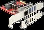 DeLock PCIe USB 3.0 Gigabit LAN (89382)