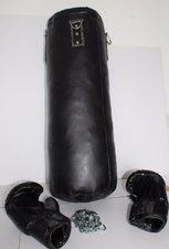 Body Coach Box-Set mit Boxsack und Handschuhen