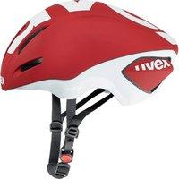 Uvex EDAero rot matt-weiß