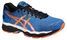 Asics Gel-Nimbus 18 Men electric blue/hot orange/black