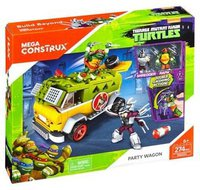 Mega Bloks Turtles Party Wagen