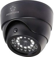 Renkforce Kamera-Attrappe mit Bewegungsmelder und IR-Spot