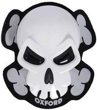 Oxford Rider Equipment Skull Knee Sliders white