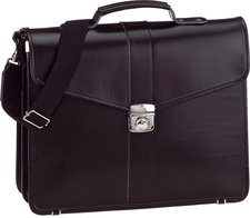 McNeill Leather Classics Briefcase black (13024)