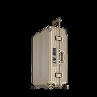 Rimowa Topas Titanium Multiwheel Trolley 78 cm titanmetallic Electronic Tag