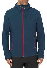 Vaude Men's Rokua Jacket Dark Petrol / Red