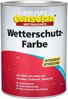 Consolan Profi Wetterschutz-Farbe grau 0,75 l
