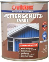 Wilckens Wetterschutz-Farbe 0,75 l