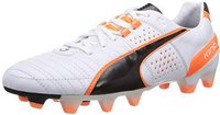 Puma King II FG white/black/fluo flash orange