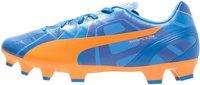 Puma evoSPEED 4 Head To Head FG orange clown fish/electric blue lemonade