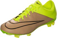 Nike Mercurial Veloce II Leather FG canvas/black/volt