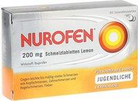 Reckitt Benckiser Nurofen 200 mg Schmelztabletten Lemon (24 Stk.)