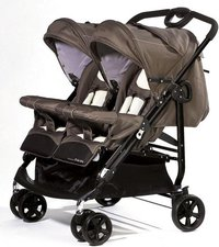Baby-Plus CompactTwin Cacao
