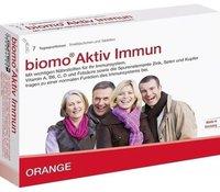 biomo-vital Aktiv Immun Trinkfläschchen + Tabletten 7-Tages-Kombi