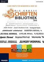 Franzis Die grosse Schriftenbibliothek 2016