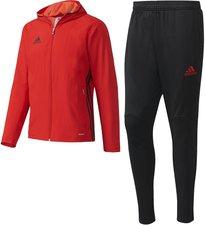 Adidas Condivo 16 Präsentationsanzug rot/schwarz