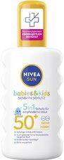NIVEA Sun Kids protect & sensitive Sonnenspray SPF 50+ (200ml)