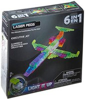 Laser Pegs Executive Jet 6 in 1