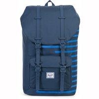 Herschel Little America Backpack navy/cobalt stripes