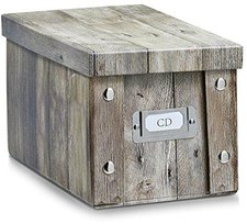 Zeller CD-Box  16,5 x28 x15cm  Wood (17865)