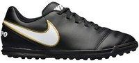 Nike Tiempo Rio III TF Jr black/white/metallic gold