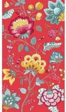 PIP Strandtuch Floral Fantasy rot (100x180cm)