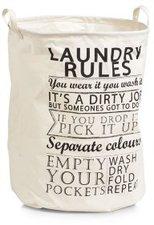 Zeller Laundry Rules Canvas (14260)