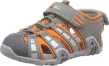 Geox Sandal Kraze (B6224B) grey/orange