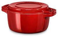 KitchenAid Bräter rund 24 cm rot (KCPI40CRER)
