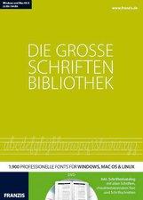 Franzis Die große Schriftenbibliothek 2014