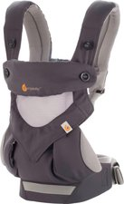 Ergobaby Babytrage 360 Cool Air Carbon Grey