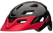 Bell Helmets Sidetrack Helm schwarz-rot
