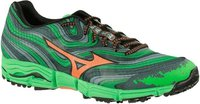 Mizuno Wave Kazan turbulence/orange/green