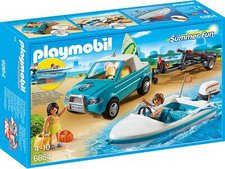 Playmobil Summer Fun Surfer-Pickup mit Speedboat (6864)