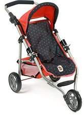 Bayer Chic Jogging-Buggy Lola - Dots blau koralle
